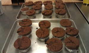 Chocolate Souffle, finished