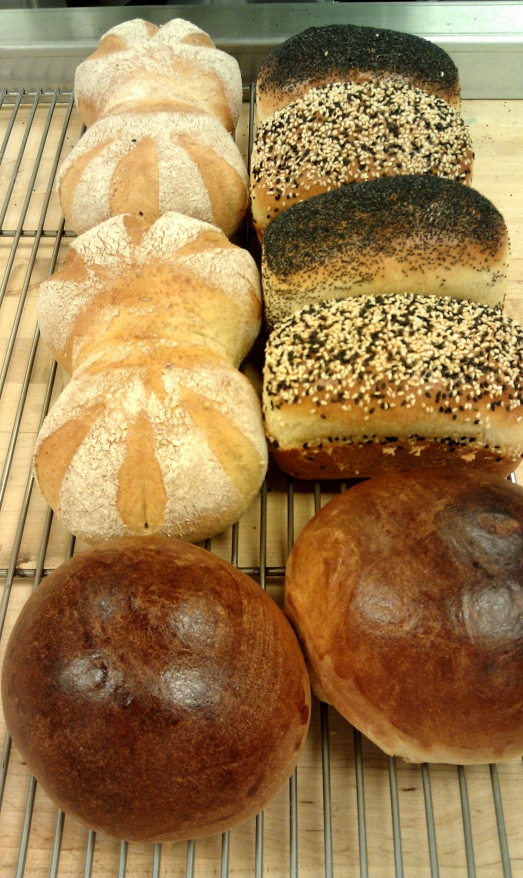 Variety breads to close out the semester