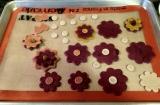 Dead Dough Project: Stylized flowers