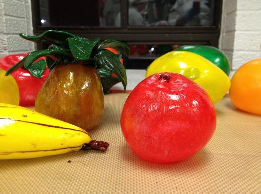 Blown sugar: fruit