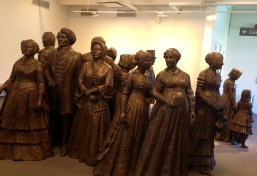 A big thank you to these women for their pluck and conviction (Women's Rights Convention, Seneca Falls, NY).