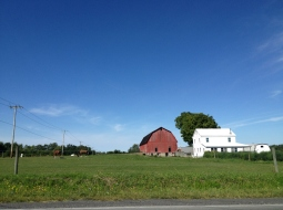 Farm outside of Ithaca, NY