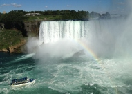 Rainbow time at the falls