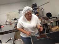 Making chocolate bars