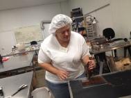 Making chocolate bars